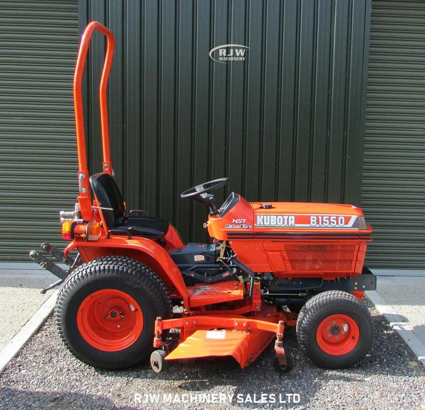 Kubota B1550 for Sale - RJW Machinery Sales