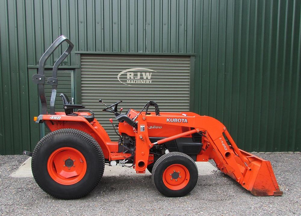 Kubota L3200 SOLD for Sale - RJW Machinery Sales