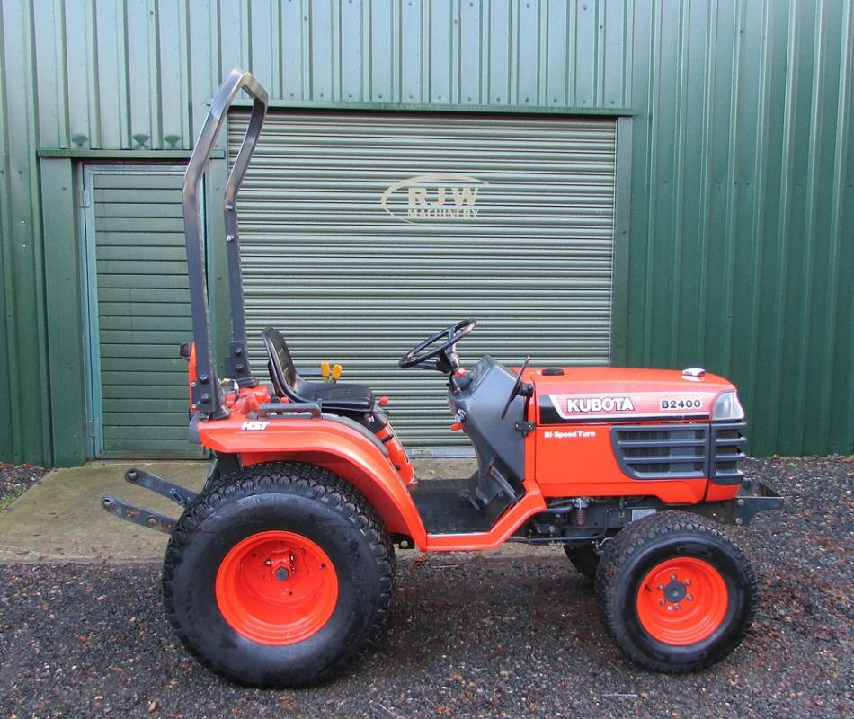 Kubota B2400 SOLD for Sale - RJW Machinery Sales
