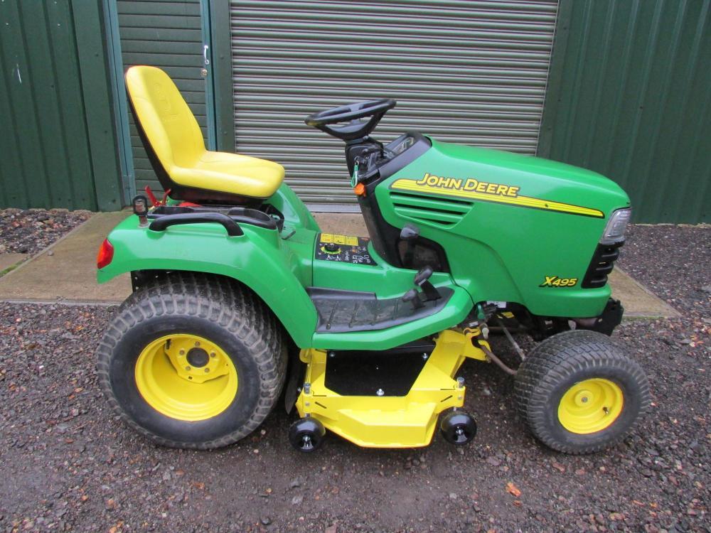 John Deere X495 ** SOLD ** for Sale - RJW Machinery Sales