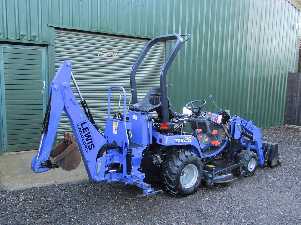 Iseki TXG23 SOLD for Sale - RJW Machinery Sales