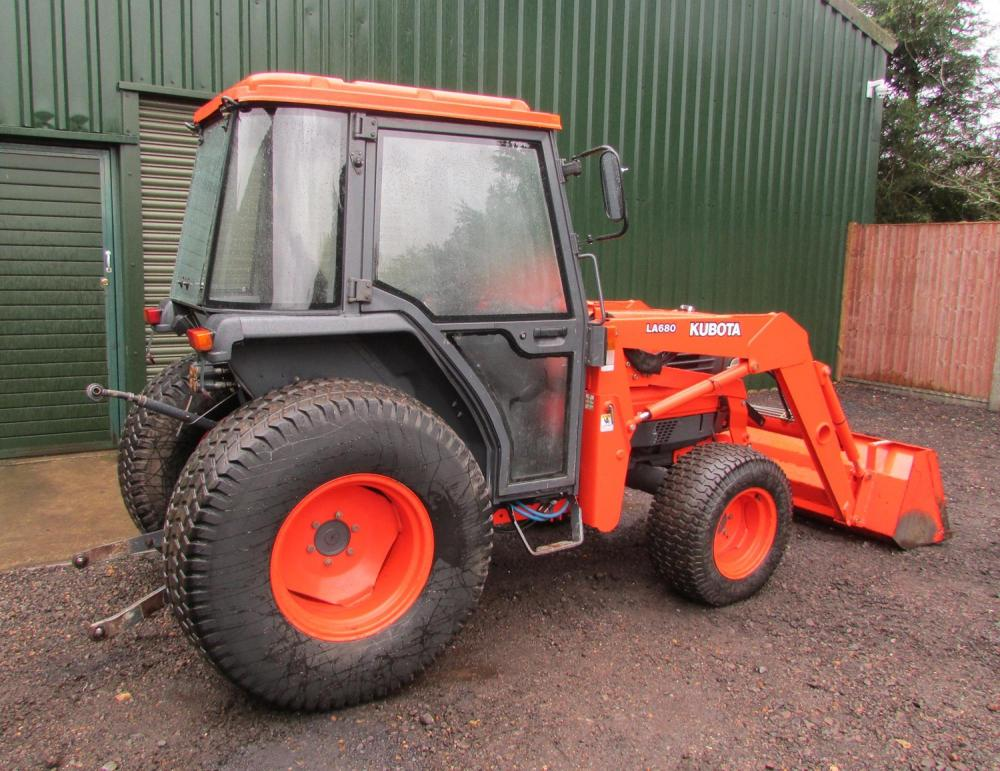 Kubota L4200 ** SOLD ** for Sale - RJW Machinery Sales