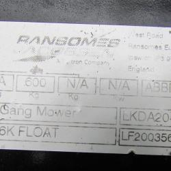 Ransomes 5 gang SOLD