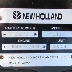 New Holland MC35
