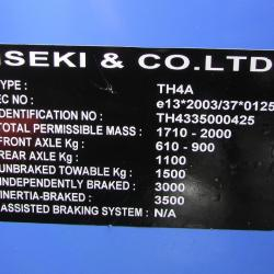 Iseki TH4335 SOLD**