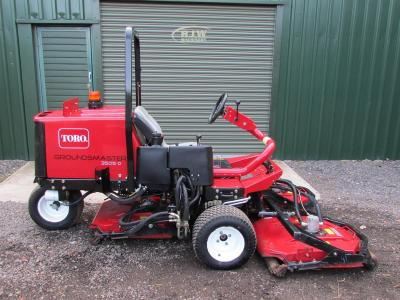 Toro Groundsmaster 3505-D was £11,500 NOW £9,995 SOLD